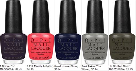 Dress Well Or Die Trying : OPI a lansat colectia Touring